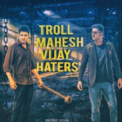 Happy birthday mahesh babu by Thalapathy fans