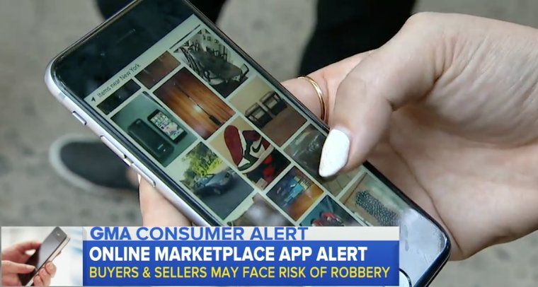Safety experts warn about the potential dangers of buying and selling through apps: https://t.co/YPi2mHsPFH https://t.co/YWDoe8qXWI