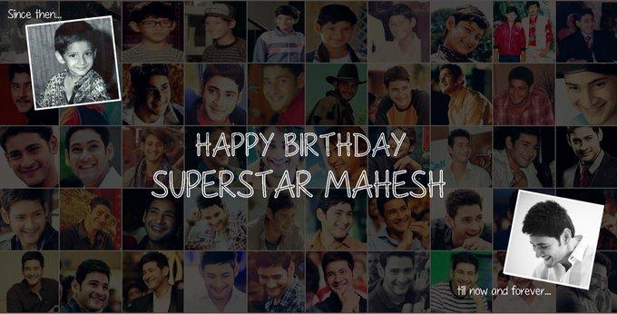 Wishing a Very Happy Birthday to our ever charming Super Star Mahesh Babu.
