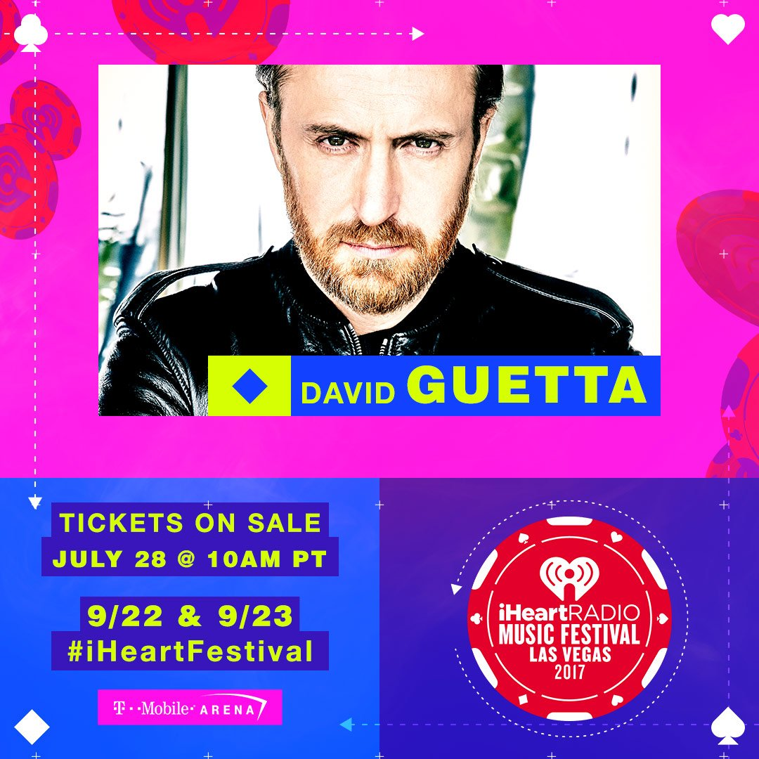 Want the epic opportunity to meet @davidguetta at the #iHeartFestival this year?  https://t.co/Ojq7Mec4E6 https://t.co/UhNFNvDPlH