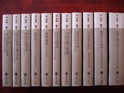 1.森博嗣小説家、工学博士。元名古屋大助教。オタクに馴染みが深いのは『すべてがFになる』だろうか。キャラクター性も独特な