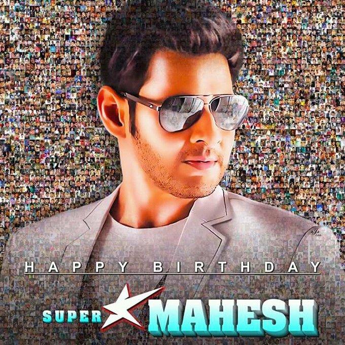 Wish u a Happy birthday to super star mahesh Babu garu