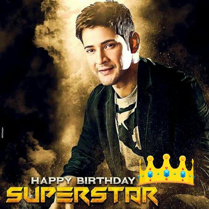 Happy Birthday Prince super star Mahesh babu