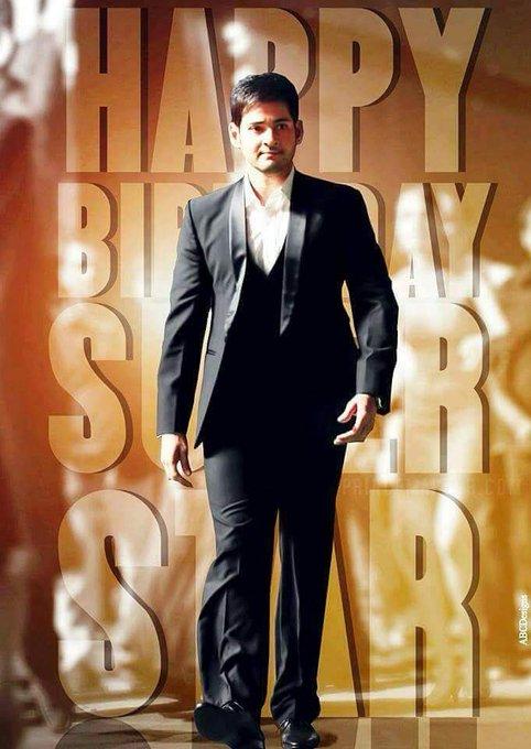 Happy birthday my demi god  Super Star Mahesh Babu