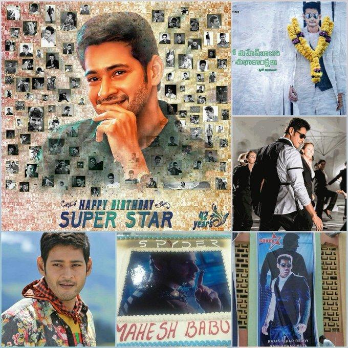 Happy Birthday Superstar Prince Mahesh Babu
