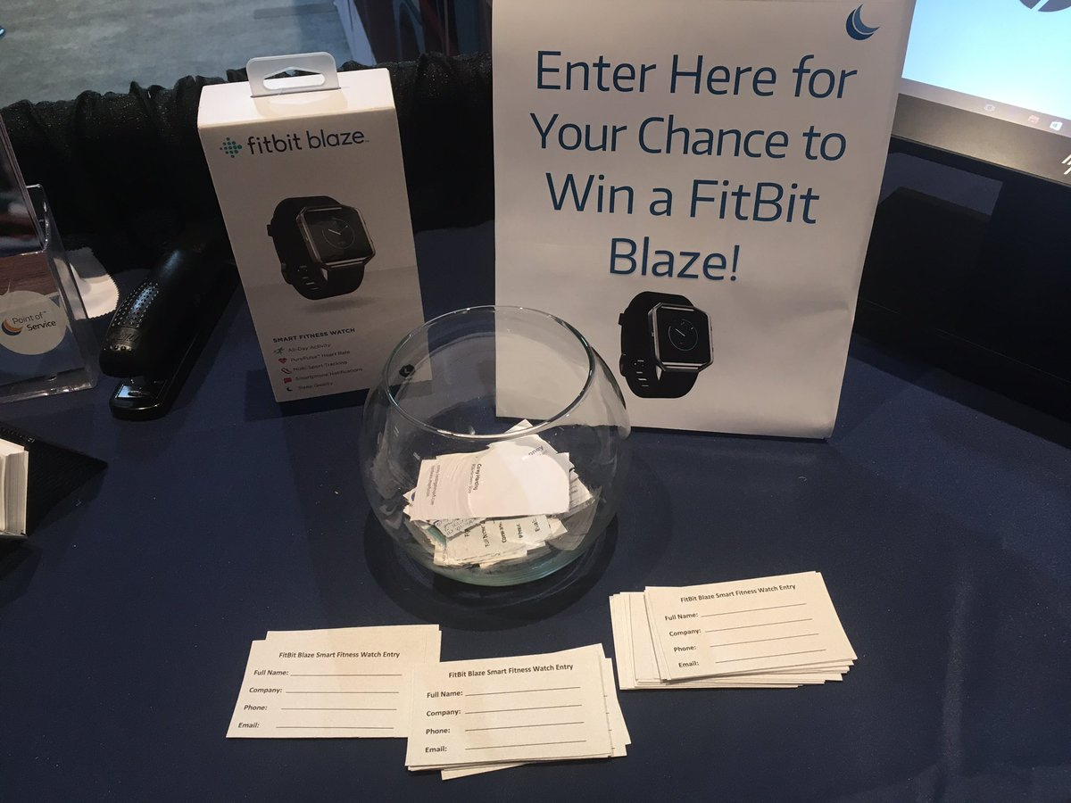 test Twitter Media - Exhibit hall is open at #RetailNow2017! We will be drawing the lucky winner of the Fitbit Blaze at 5:45 today. Enter to win at booth 1015 https://t.co/9sF3m5CRKe