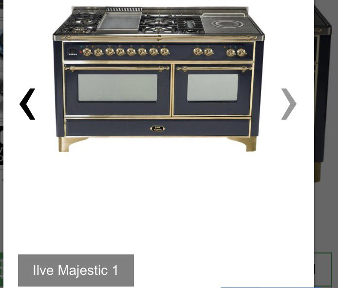 What do you think of #IlvesMajestic oven range? https://t.co/QmDmL8gCcA