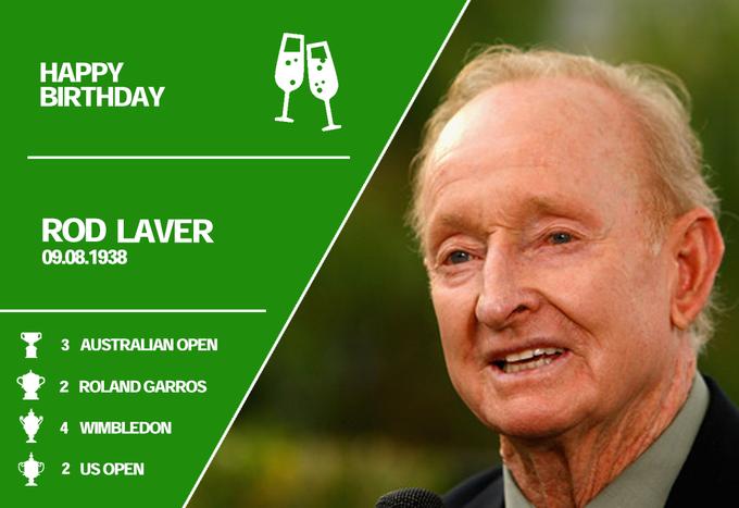 Happy Birthday Rod Laver!