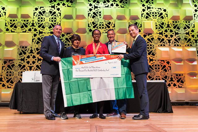 Nigerian student third in World Microsoft Word Competition