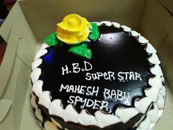 Happy Birthday Mahesh babu Sir