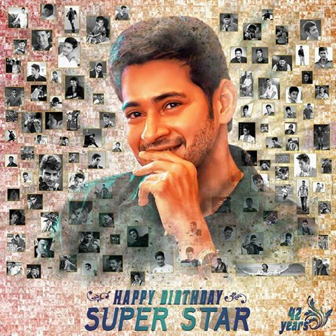 A very happy birthday to prince MAHESH BABU..a hero with kind hearted...