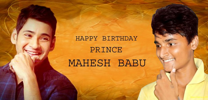 Happy birthday PRINCE MAHESH BABU gaaru  stay blessed...