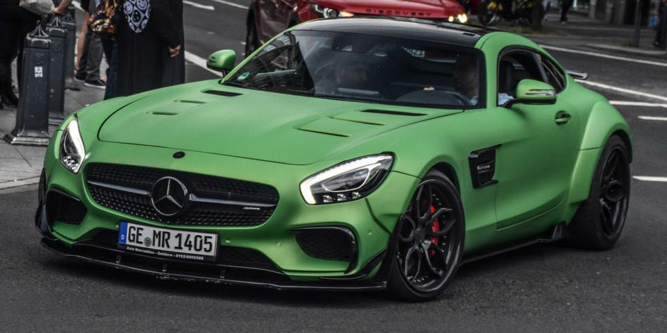 Prior-Design Mercedes-AMG GT S Wins Head-Turner Of The Day Award