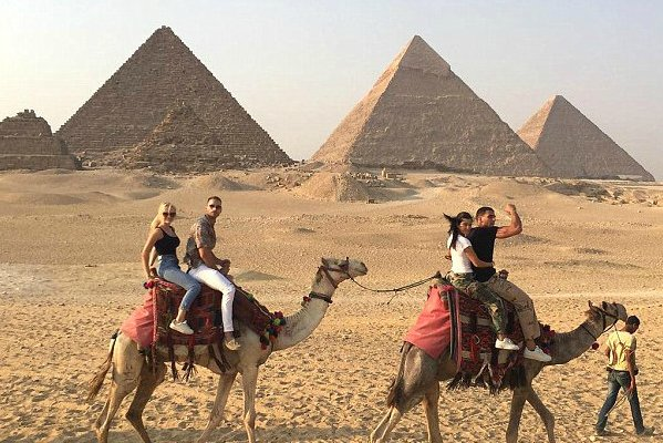 Kourtney Kardashian and Younes Bendjima went on quite an adventurous Egyptian vacation: