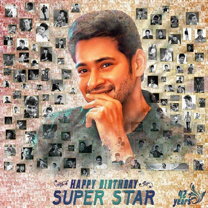 Happy birthday to superstar Mahesh babu sir