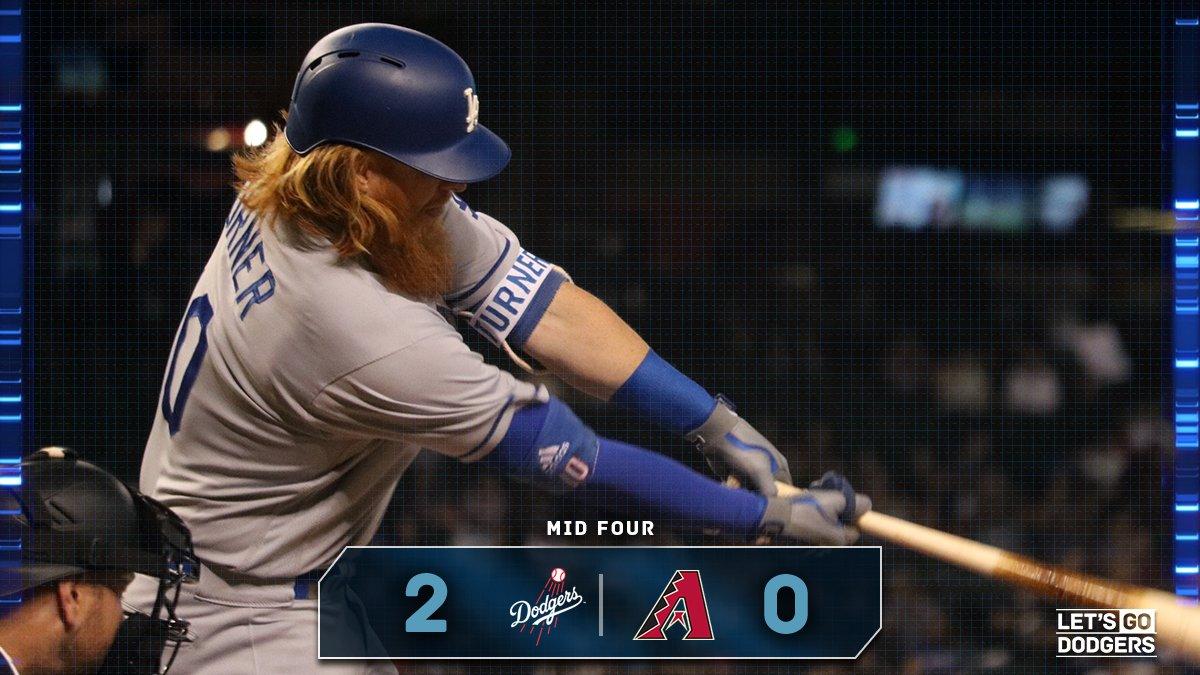 Mid 4:  #Dodgers 2, D-backs 0  �� https://t.co/OYedTQwVje