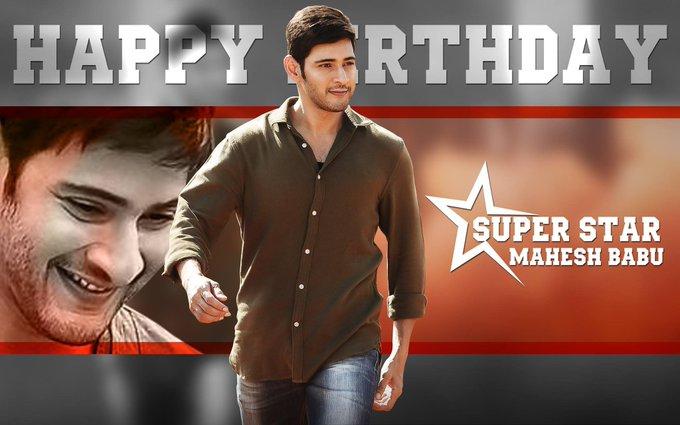 Happy birthday to you mahesh babu