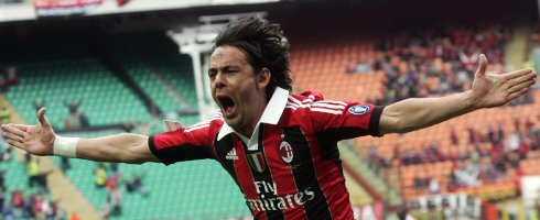 Today is the 44th birthday of former  and striker Filippo Inzaghi.