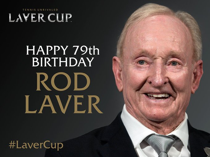 Happy birthday to Rod Laver, the man whose legend the honours.