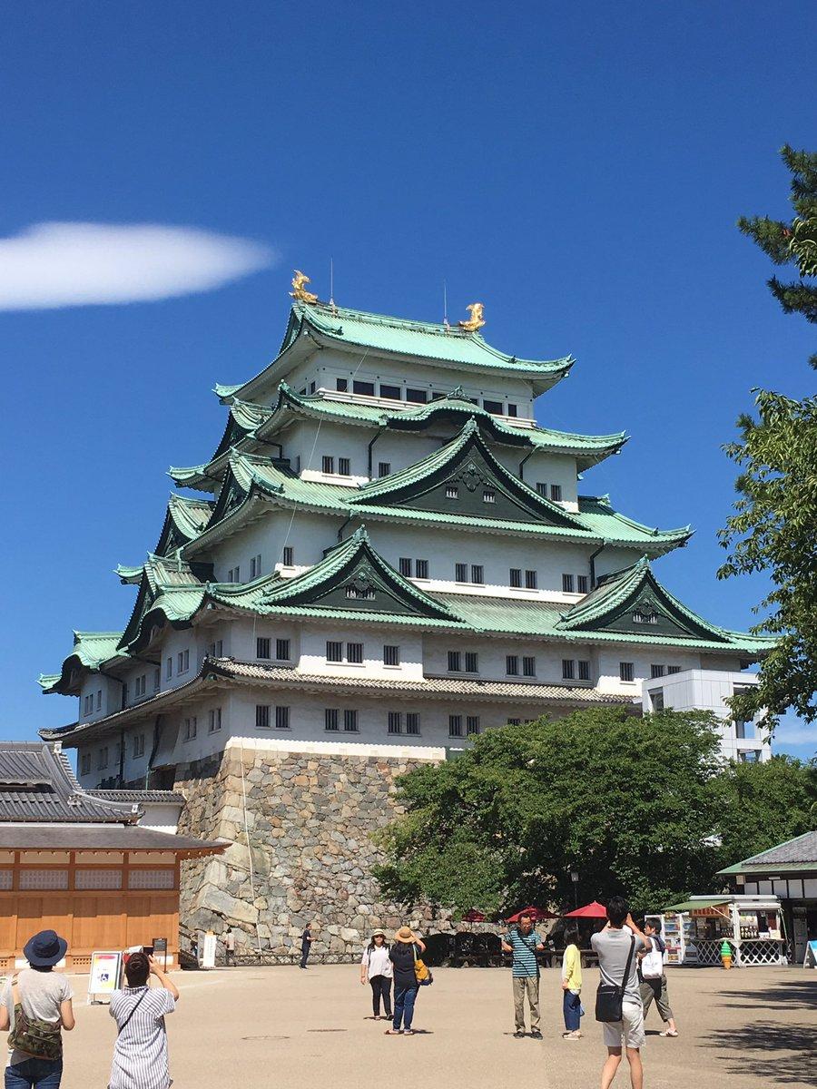名古屋城に鯱ーヾ(*'∀`*)ノ名古屋城の最寄駅出口が中々素敵でパチリンコ☆名古屋城来てから思ったけどローリングガールズ