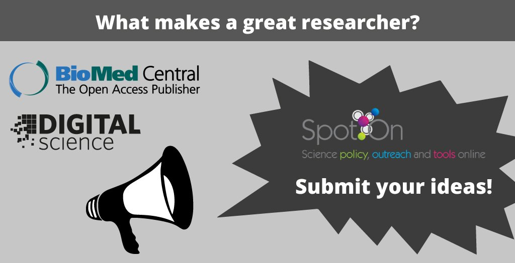 test Twitter Media - Submit ideas for #SpotOn17 Theme is 'What makes a great researcher: tools and skills' https://t.co/aqyB8k0Sk5 https://t.co/wWY4jUzf7d