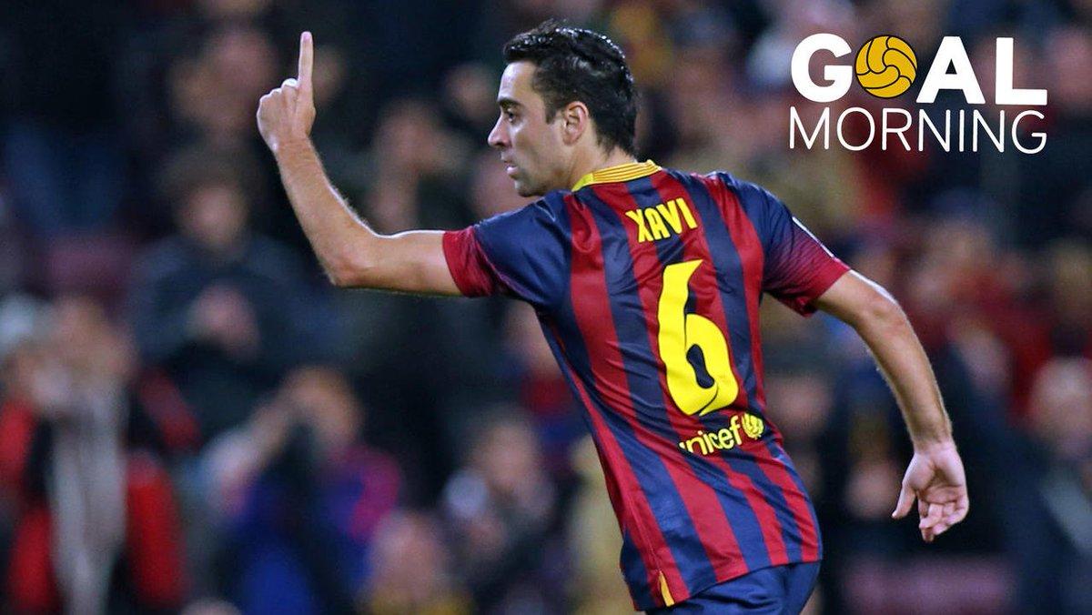 RT @FCBarcelona: G⚽️AL MORNING!!!  #Xavi 🆚 Almeria https://t.co/fsYq7wyWjz