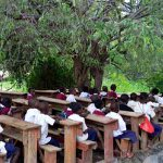 Musoma council schools hold classes under trees