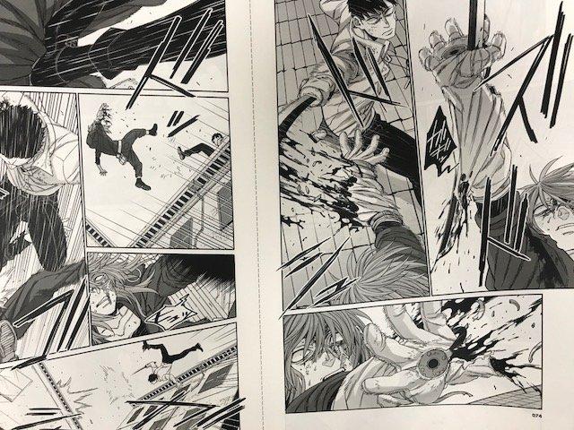「GOGOバンチ」vol.18本日発売!!大人気「GANGSTA:CURSED.」は、ストライカーの願いにスパスが!一方