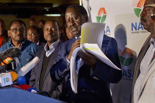 Violent protests in Kenya as opposition alleges vote fraud