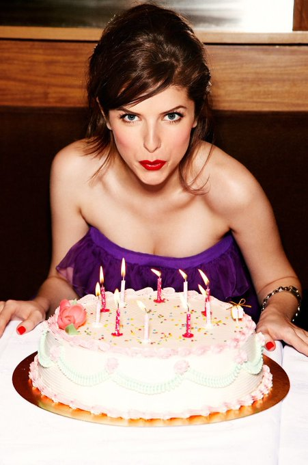 Anna Kendrick photographed by Chris Craymer for GLAMOUR magazine UK edition   2011.  Happy birthday Miss  Kendrick.