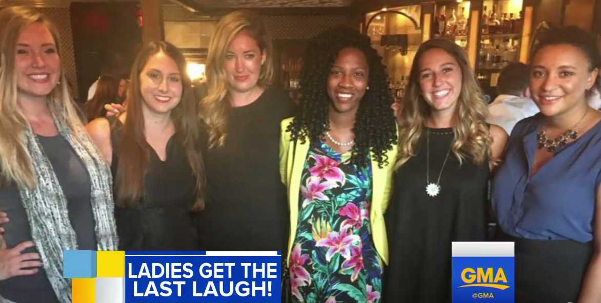 WATCH: The ladies get the last laugh after a guy books 6 dates in 1 night at the SAME bar �� https://t.co/rKytzN9bfF https://t.co/Ak4xwEFKyC