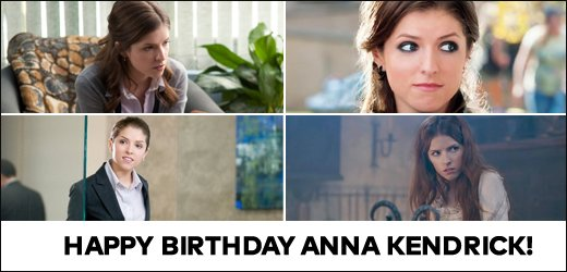 Happy Birthday Anna Kendrick! Hit Like if you can t wait for