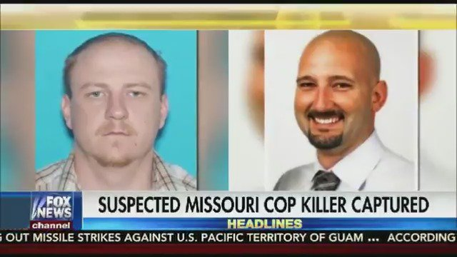 Accused Missouri cop killer in custody after two-day manhunt https://t.co/qBzQ5wzx2J
