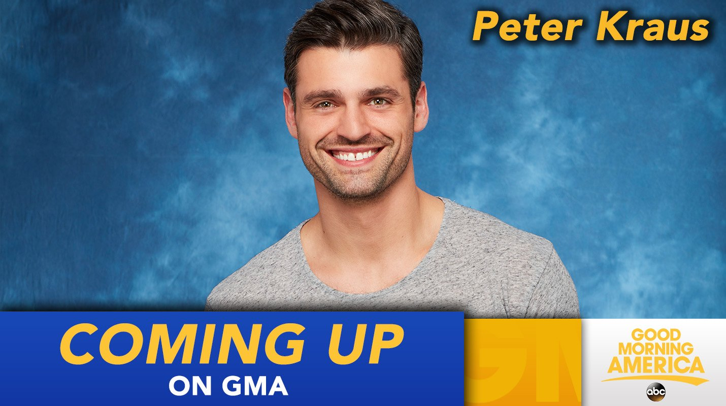 COMING UP ON @GMA: @BacheloretteABC's Peter Kraus tells all, LIVE in Times Square! #TheBacheloretteFinale #TeamPeter https://t.co/vIKvFdoH1A