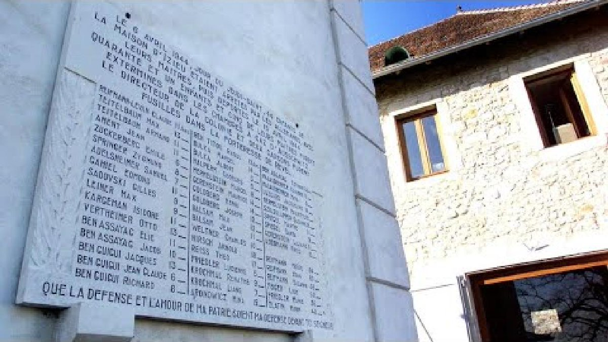 ?? WWII memorial to deported Jewish children vandalised in eastern France