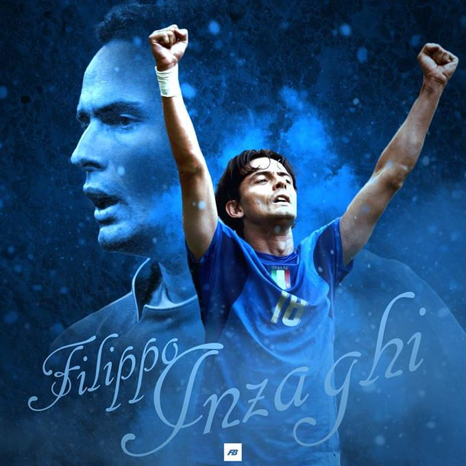 Happy 44th birthday to A.C. Milan & Italy legend Filippo Inzaghi!