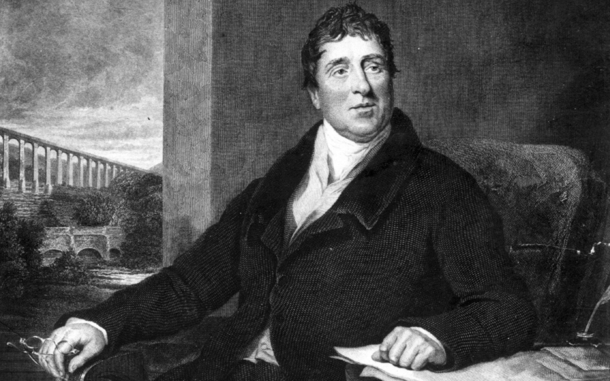 09AUG1757: Birth of #ThomasTelford, Scottish #CivilEngineer, architect & stonemason; prolific designer of early #19thCentury #infrastructure https://t.co/X98GeqSr0N
