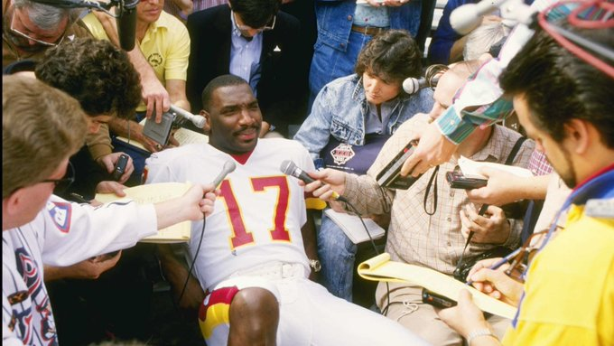 Happy 62nd birthday to Grambling State legend and Super Bowl XXII MVP Doug Williams!