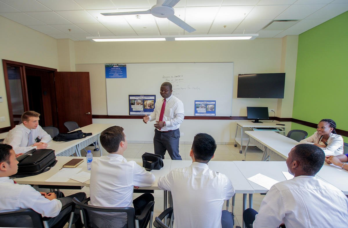 Another MTC open house — this one at the LDS Church's new Ghana Missionary Training Center