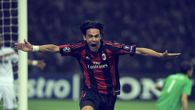 Happy Birthday to Filippo Inzaghi - the original poacher who Sir Alex said \I think he was born offside\