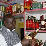 Alcohol lovers toast to MUTUTHO's loss in Nakuru gubernatorial race (LOOK)