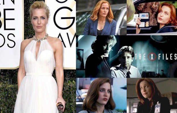 Hoy cumple 49 años Gillian Anderson (Dana Scully en Happy Birthday