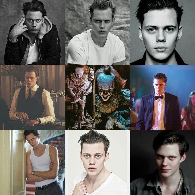 Happy 27th Birthday to Bill Skarsgard!