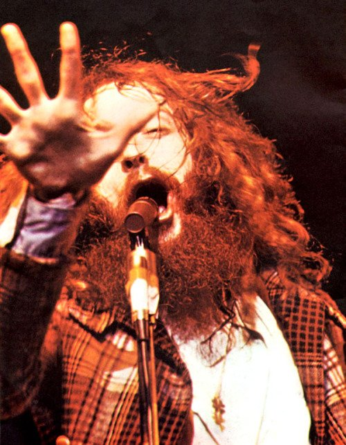 Remessageed Rock N Roll Pictures (   Happy 70th birthday Ian Anderson