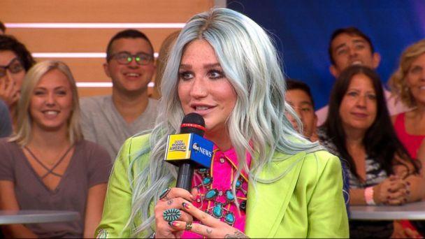 An incredible morning! @KeshaRose says new record 'Rainbow' 'saved her life' ❤️�� https://t.co/Ah09fWMifu https://t.co/MarDGzQtys