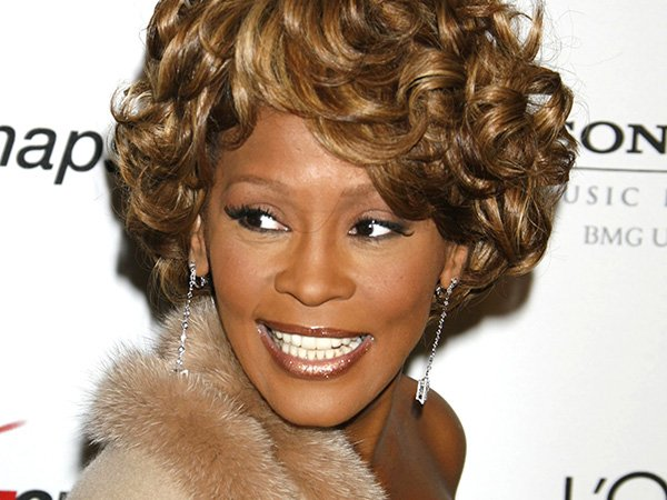 HAPPY BIRTHDAY Whitney Houston We all miss that beautiful voice and style! Shop the look