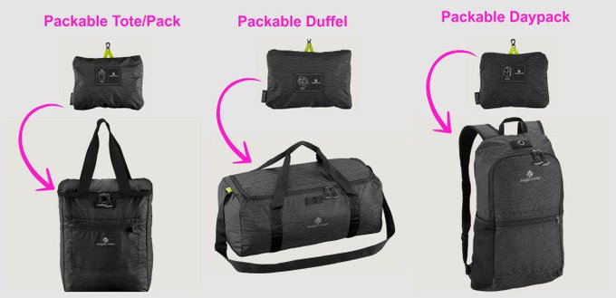 Stashable Capacity: Eagle Creek Packables Luggage