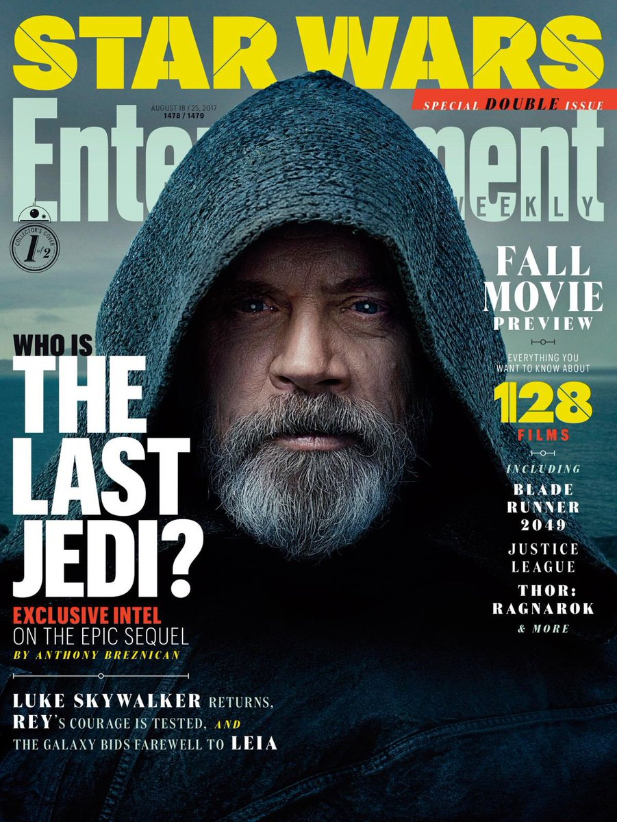 RT @CousinsCinema: Quelle classe ce Luke Skywalker ! Vivement #TheLastJedi 😱 https://t.co/nAgPnbPDgV