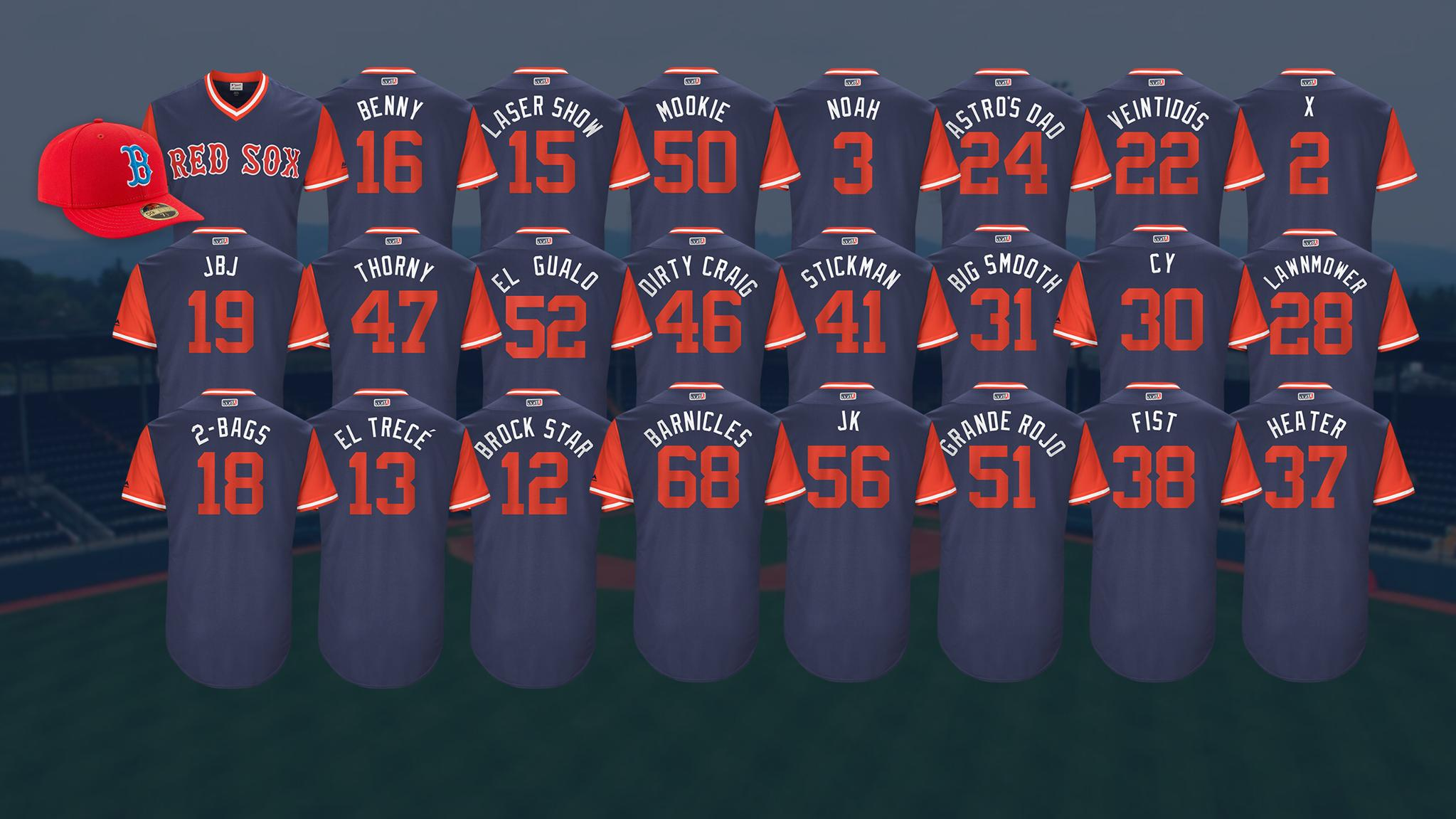 We got nicknames! ��  #PlayersWeekend details: https://t.co/5n3xOfdbA8 https://t.co/jloQcUKSqi