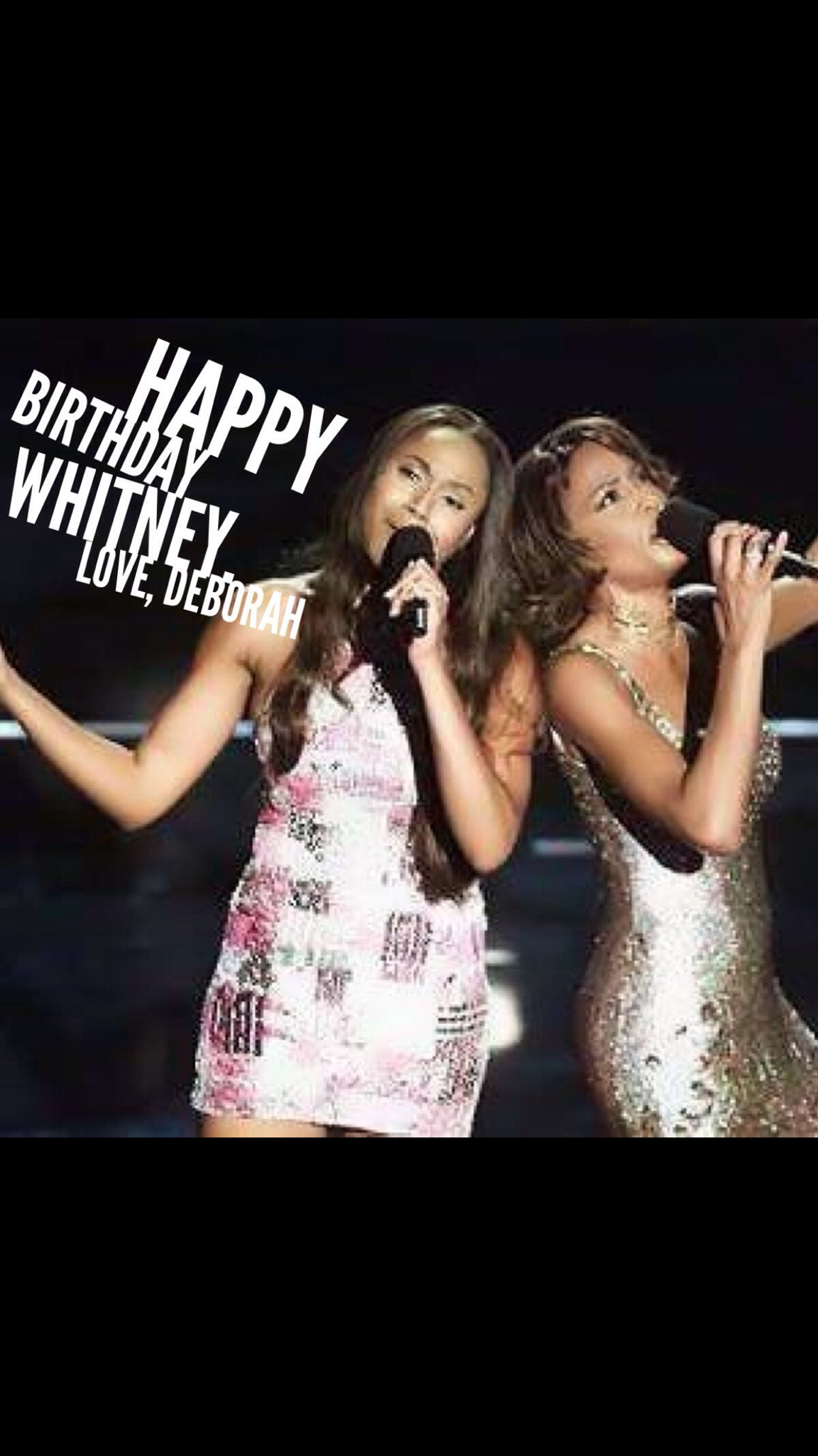 Huffpostqueer: Deborah_Cox: Happy Birthday Whitney